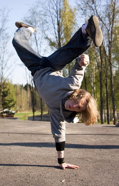 Vesa Nopanen: 'Breakdancer'