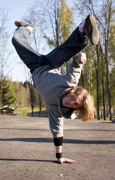 Vesa Nopanen: 'Breakdancer'