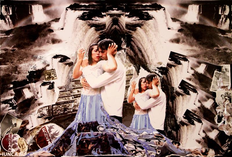 Susanna Hannus: 'Iguazú Falls Mosaic'