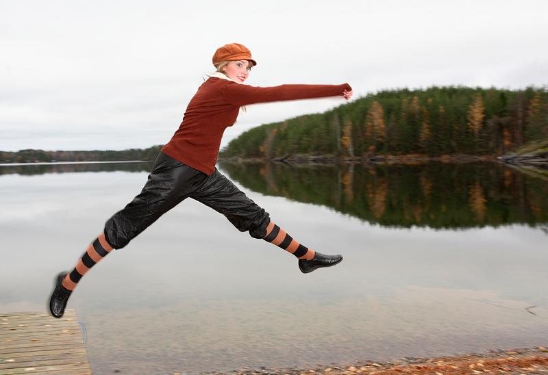 Matti Kuivalainen: 'Iloinen tanssija'