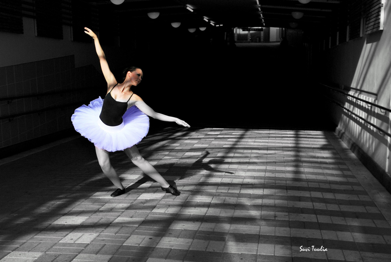 Suvi Leskinen: 'Tosielämän ballerina'