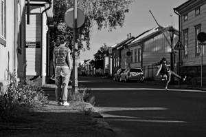 Taneli Törmä ja Eleni Pierides: Once Upon a Time in - . Kuva Arto Tuoretmaa.