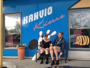 PIlluralli Pyhäjärvellä. Kuvassa: Laura Rämä ja Samuli Nordberg. Kuvaaja: Pirjo Yli-Maunula
