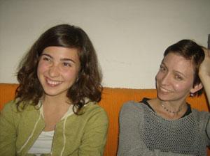 Eleni Pierides ja Laura Kamppila