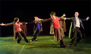 Nomade Cabaret, kor. William Petit, kuva Mika Kamula