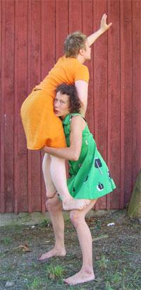 Sininen rakastaja, kor. Laura Mäkelä, kuva Martin Sainio