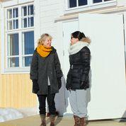 Kuvassa Margrét Sara Guðjónsdóttir ja Suet-Wan Tsang. Kuva: Sari Palmgren.