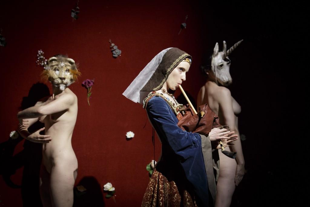 Gaëlle Bourges: A mon seul desir, 2014. Kuvaaja: Christophe Raynaud de Lage