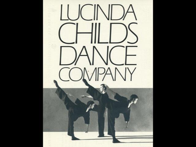 Lucinda Childs Companyn juliste