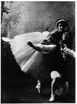 Les Sylphides, Vaslav Nijinski ja Tamara Karsavina